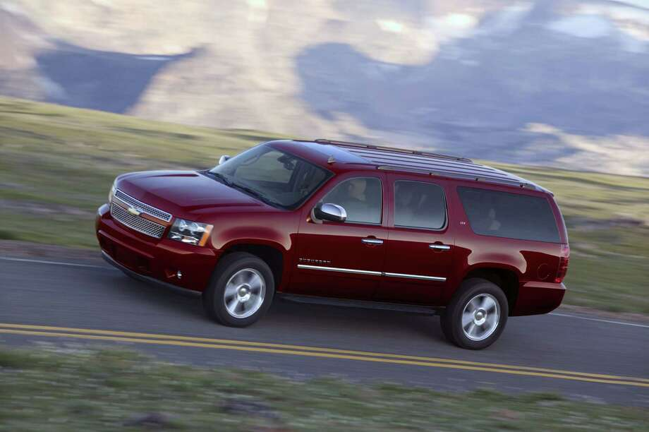 Chevrolet Suburban 1500Starting Price: $45,360Rate of theft: 4.5 out of every 1,000 insured Photo: GM / License Agreement - Please read