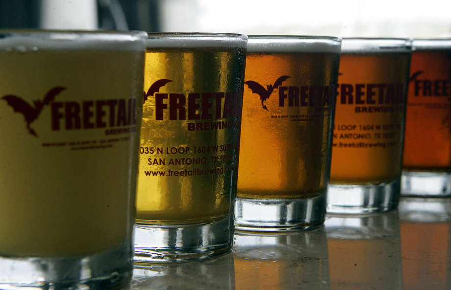 New laws mean brew pubs like Freetail can distribute beer — up to 10,000 barrels annually — to other retailers. Photo: San Antonio Express-News / File Photo