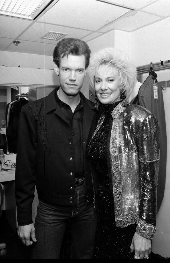 Randy Travis with Tammy Wynette  (Photo by Time & Life Pictures/Getty Images)