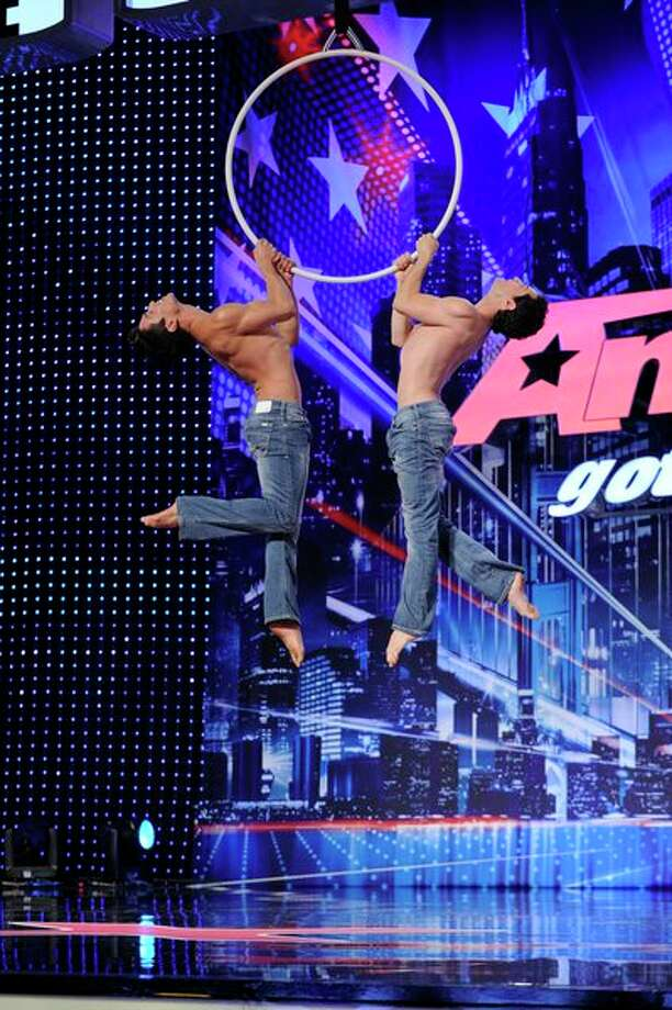 AMERICA'S GOT TALENT -- Episode 807 -- Pictured: Tavi & Antonio -- Photo: NBC, Virginia Sherwood/NBC / 2013 NBCUniversal Media, LLC.
