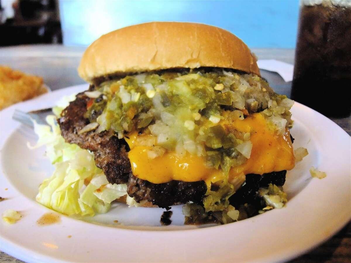Best hamburgers: Stomp's Burger JointAddress : 3107 TX 146 in BacliffPhone: (281) 339-0785Website: stompsburgerjoint.com
