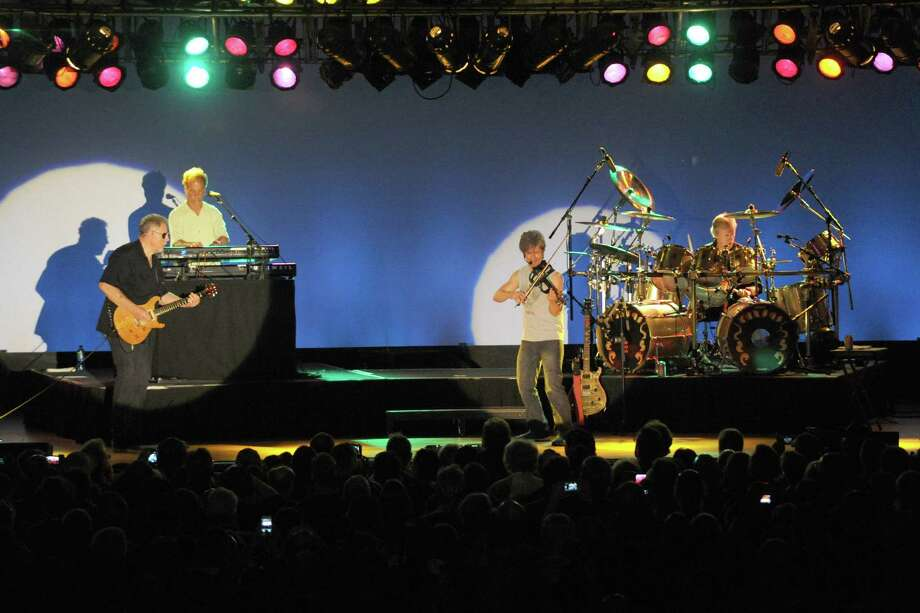Kansas performs during the Wednesday night concert at Empire State Plaza Convention Center on Wednesday July 10, 2013 in Albany, N.Y. (Michael P. Farrell/Times Union) Photo: Michael P. Farrell / 10023110A
