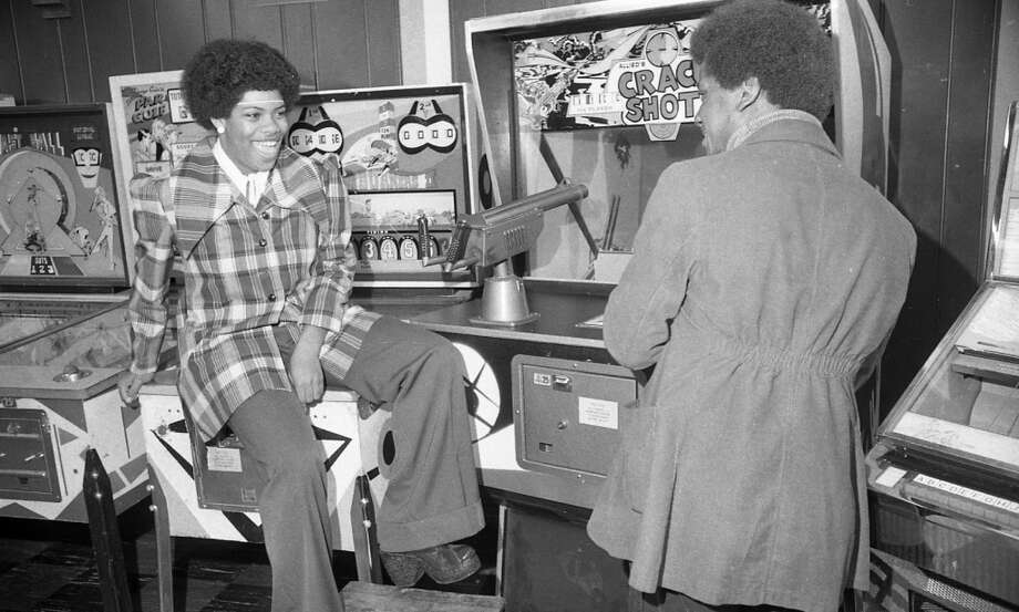 March 20, 1974: The Fun Center on Market Street near 6th in SF. All articles from that time seemed to portray video games and pinball negatively -- this photo was taken for a story about truancy.