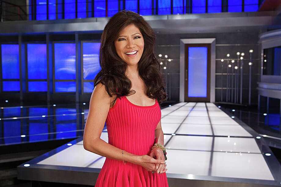 Host, Julie Chen, in front of the new BIG BROTHER house. Photo: Sonja Flemming, Courtesy Of CBS / ©2013 CBS Broadcasting, Inc. All Rights Reserved