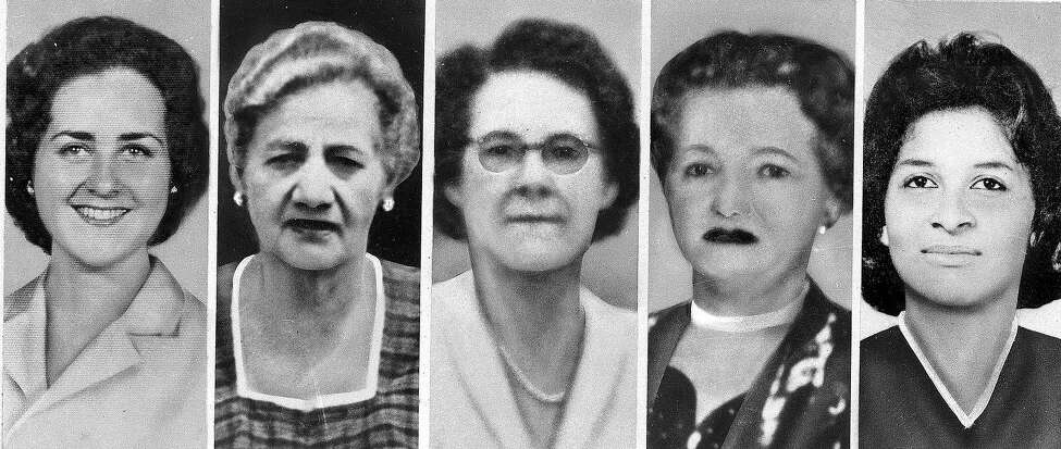 The Boston Strangler The person or persons responsible for the murders of 13 women in Boston in the early 1960s have never been caught. Though convicted rapist Albert DeSalvo confessed to the crimes, he later recanted. He was found dead in 1973 while serving time in prison. This is a photo of five of eight women whose murders are linked to the Boston Strangler. Left to right are Sophie Clark, 21; Jane Sullivan, 67; Helen E. Blake, 65; Ida Irga, 75; and Patricia Bissette, 23.