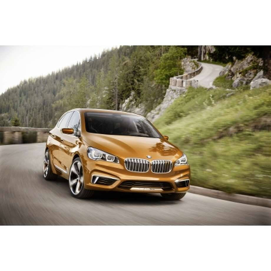 BMW plans to introduce its new concept active tourer in Germany later this month.