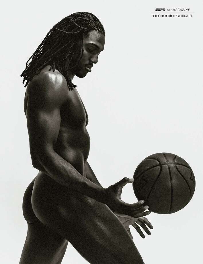 """Kenneth Faried of the Denver Nuggets in ESPN The Magazine's 2013 """"Body Issue."""" Photo: ESPN"""