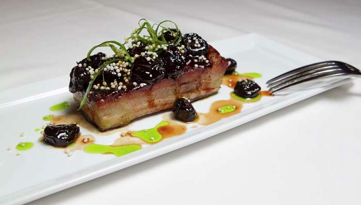 The pork belly at Killen's Steakhouse Friday, Jan. 27, 2012, in Pearland.
