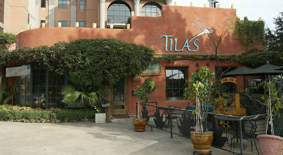 Tila's: A la carte menu. Sample meal: crab tostada 