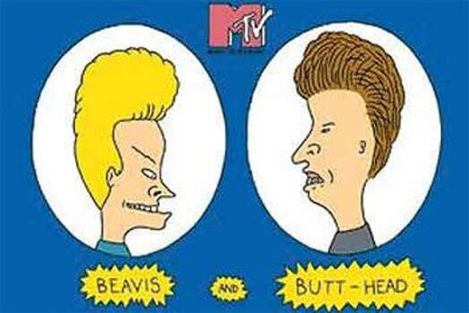 """""""Beavis and Butt-head"""" - Raise your hand if you had to sneak-watch this show when your parents were home. Photo: Flickr."""