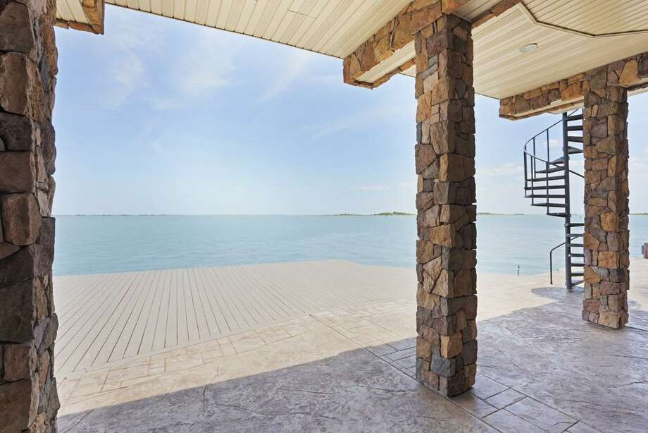 This $2.1 million home offers stunning views of the Gulf, and it also features two bedrooms and two bathrooms in more than 3,800 square feet.