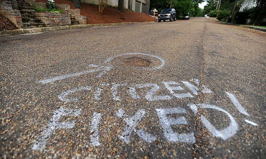 Patchman strikes again! Waiting for City of Jackson, Miss., street crews to repair its potholes must have been taking too 