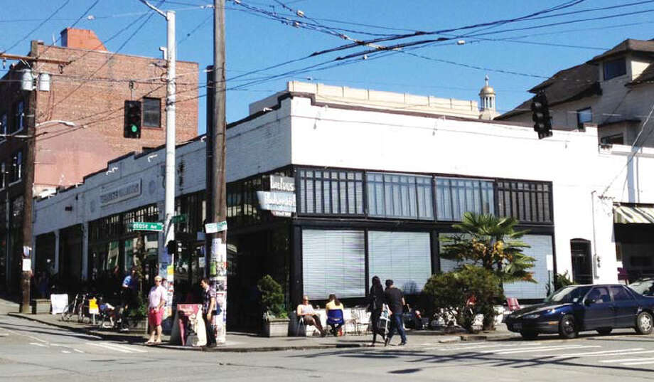 Madison Development Group (MDG) plans to preserve the two old buildings as part of its project, along with the facade of a third. That made a lot of neighbors happy. It also means this corner at Pine and Melrose would look like ...