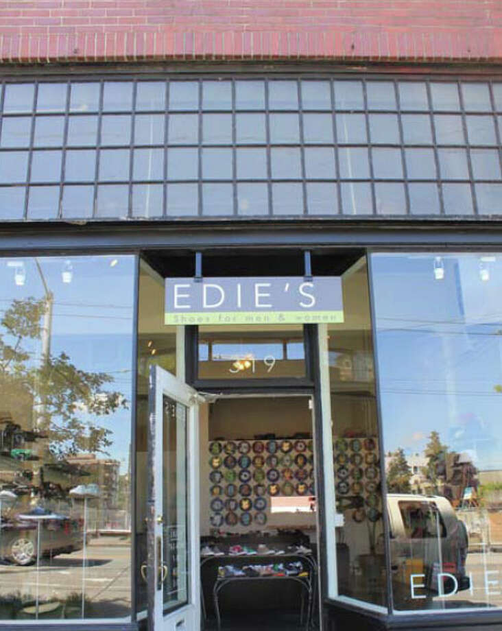 ... shoe shop Edie's, and ...