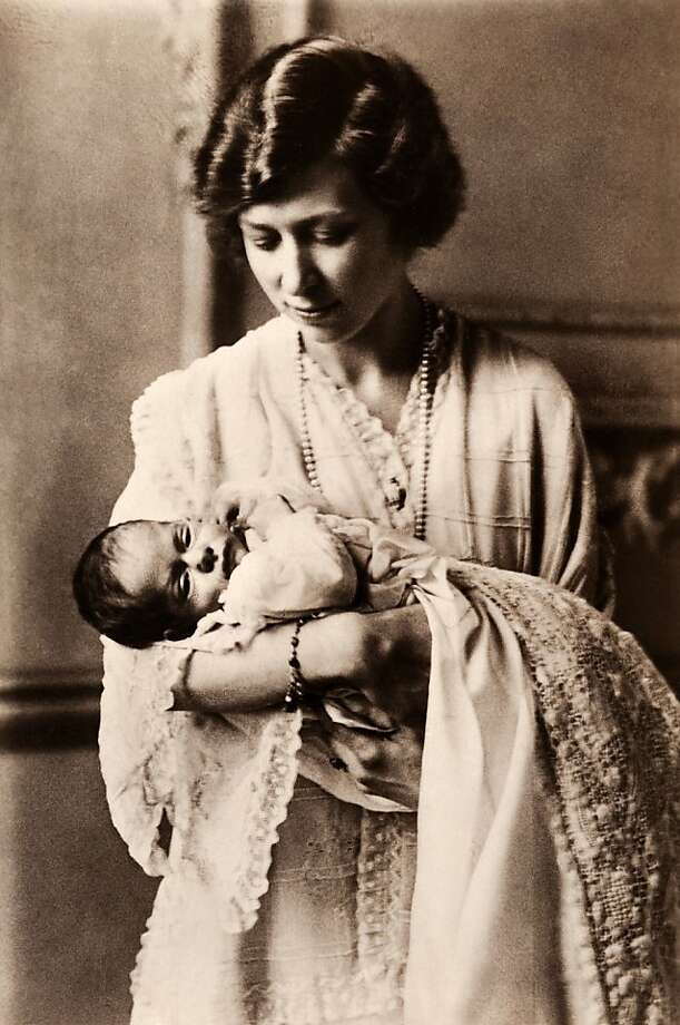 HRH Princess Mary, Viscountess Lascelles, with her elder son The Honourable George Henry Hubert Lascelles, circa 1923. Photo: Popperfoto, Popperfoto/Getty Images