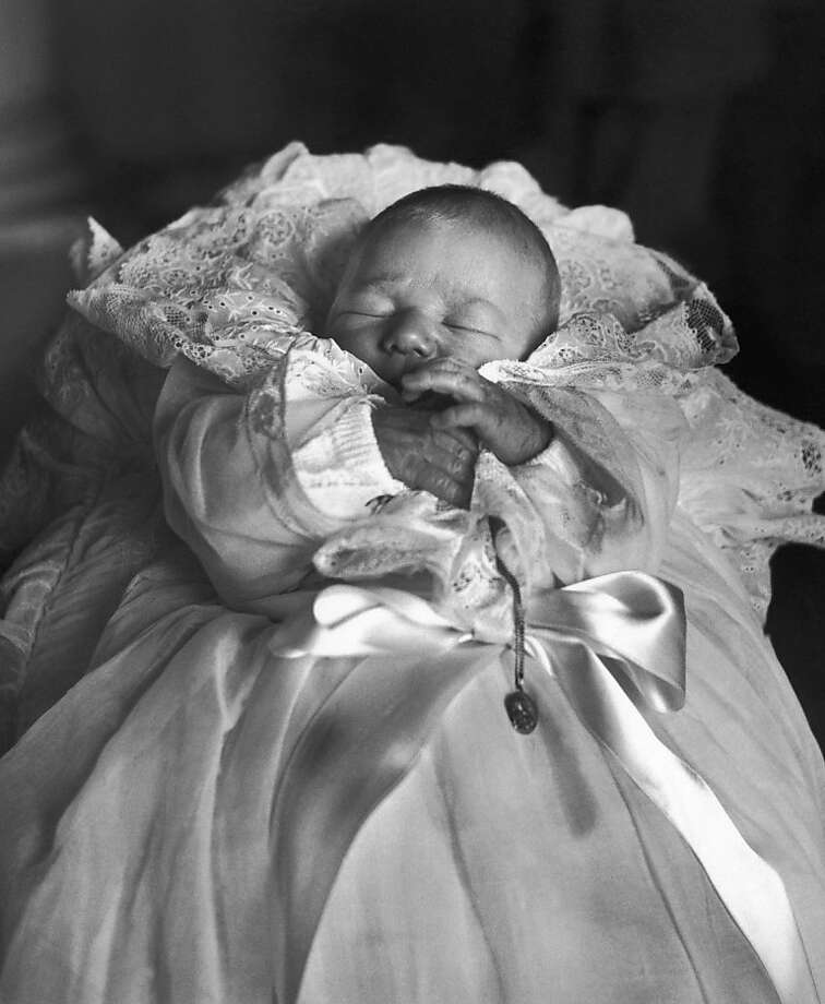 Baby Prince Philippe of Belgium in  Brussels on April 14, 1960 Photo: Photonews, Photonews Via Getty Images