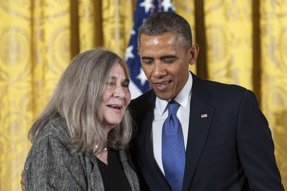 "Marilynne Robinson: ""For her grace and intelligence in writing. With moral strength and lyrical clarity, Dr. Robinson's novels and nonfiction have traced our ethical connections to people in our lives, explored the world we inhabit, and defined universal truths about what it means to be human."""