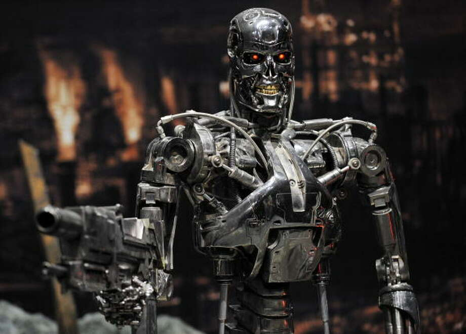 The Terminator franchise could just be the perfect robot series. Photo: YOSHIKAZU TSUNO, AFP/Getty Images / 2009 AFP