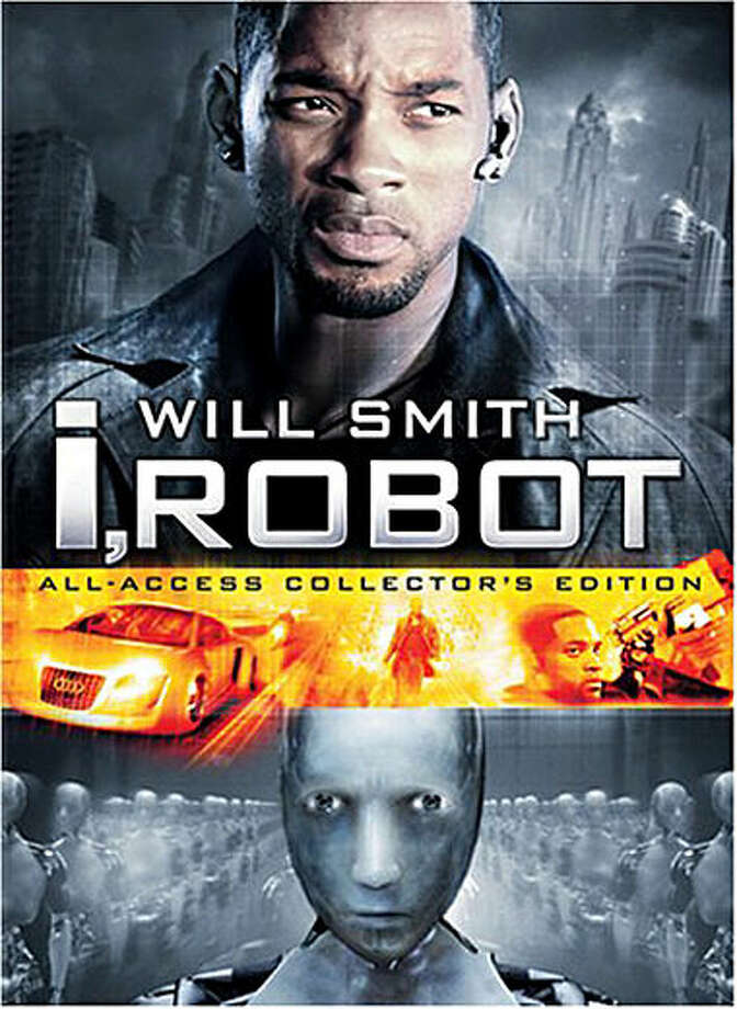 Will Smith took on an army of  robots in I,Robot.