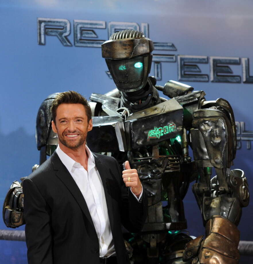 Rock'em, sock'em robots came to life in Real Steel. Photo: CHRISTOF STACHE, AFP/Getty Images / 2011 AFP