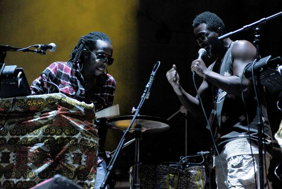Sub Pop signed the Seattle hip hop act Shabazz Palaces in 2010 and released their first album the following year. Shabazz Palaces were the first music recipients of The Stranger's Genius Award, which recognizes visionaries in literature, film, art, theater and music. Photo: Tim Mosenfelder, Getty / 2012 Tim Mosenfelder