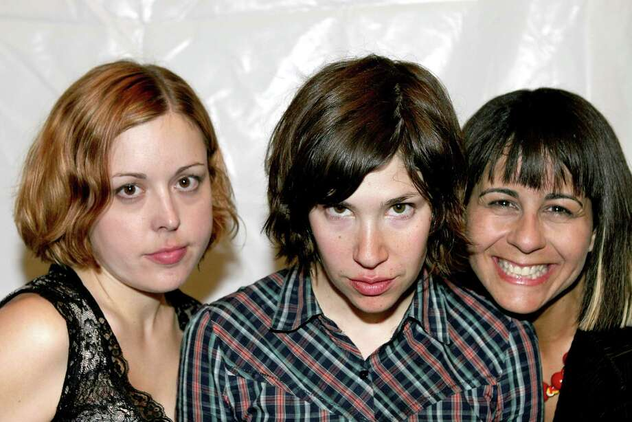 "Formed in Olympia in 1994 and named for a local arterial, Sleater-Kinney was a ""riot grrrl"" band known for its powerful, strident vocals.The band did not release any records with Sub Pop until its final album in 2005, ""The Woods,"" which was described by critics as a departure from their signature sound, featuring a denser, more classic rock-inspired style.Though the group disbanded in 2006, two of its members, Carrie Brownstein and Janet Weiss, went on to form Wild Flag. Brownstein today is best known as the co-star of the IFC sketch comedy TV show, ""Portlandia."" Photo: Bob Berg, Getty / Bob Berg 2005"