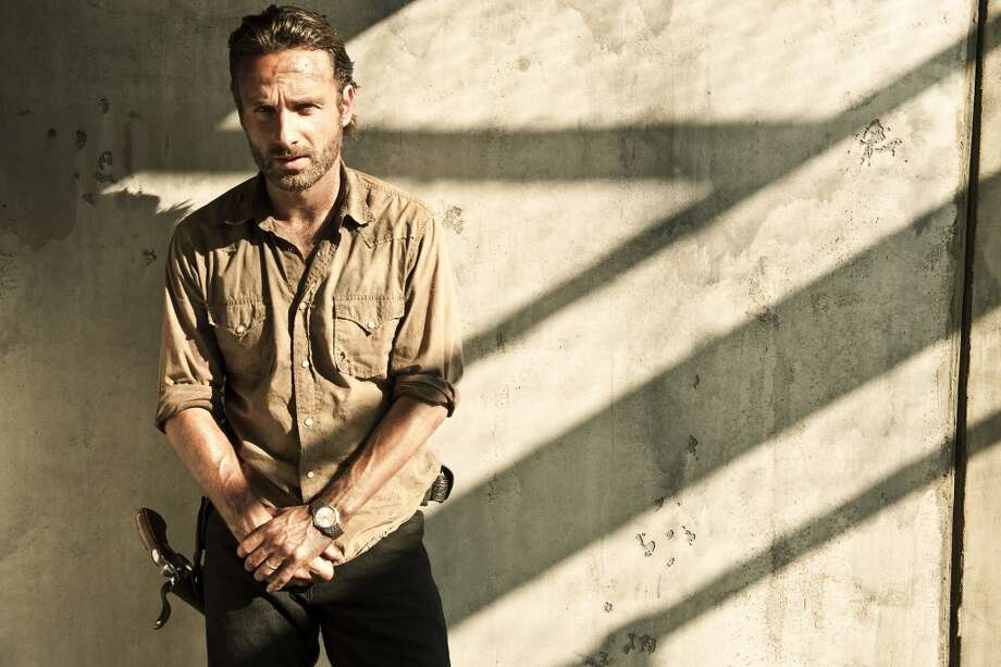 "Andrew Lincoln of ""The Walking Dead"" is from England, although you'd never tell from his character's southern drawl."