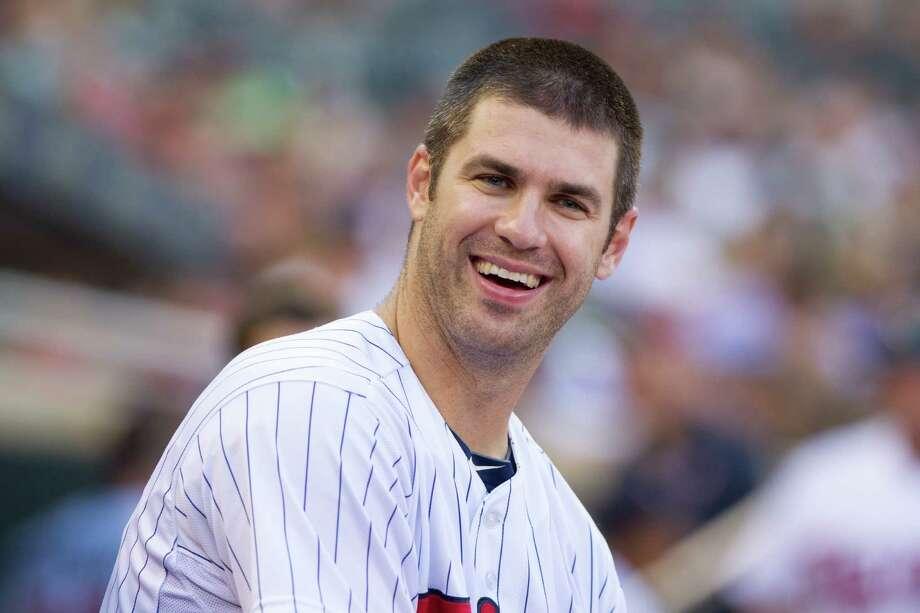 9. Joe Mauer, Minnesota TwinsAge: 30 | Position: catcher Photo: Brace Hemmelgarn, Getty Images / 2013 Minnesota Twins
