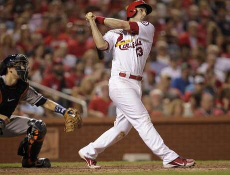 July 10: Cardinals 5, Astros 4 Matt Carpenter's 2-run shot in the seventh inning gave the Cardinals the lead for good as the Astros dropped both game of the two-game set in St. Louis.  Record: 32-59. Photo: Tom Gannam, Associated Press