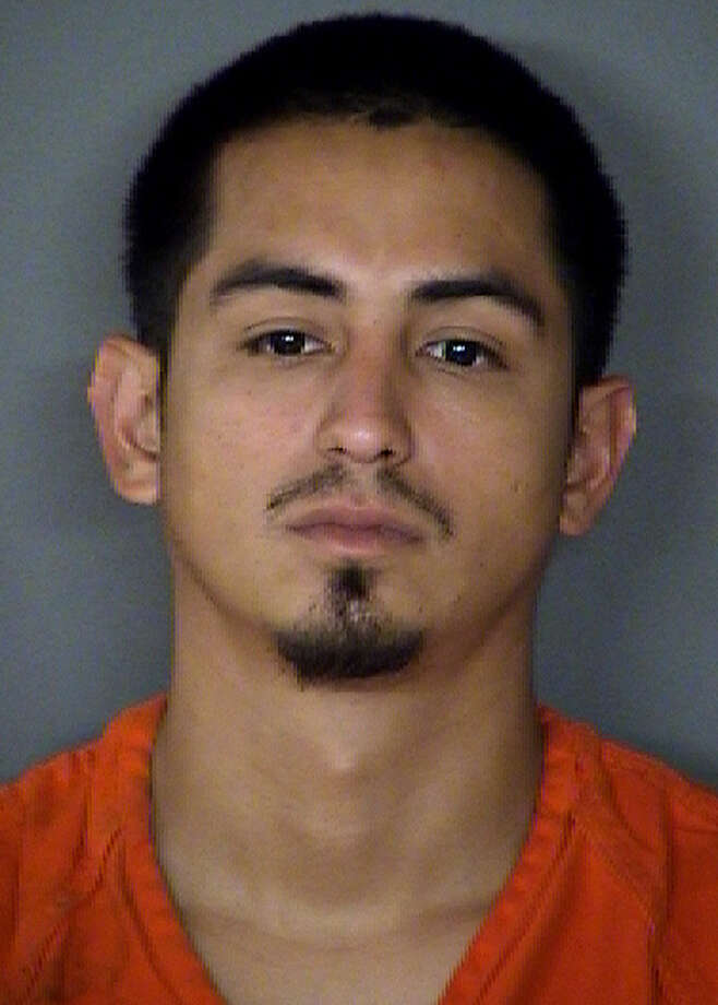 Officials say Edward Garcia, 26, was picked out of a photo lineup by a victim who was threatened outside Krispy Kreme on Tuesday night, July 9, 2013. Photo: Courtesy Photos / Bexar County Sheriff's Office