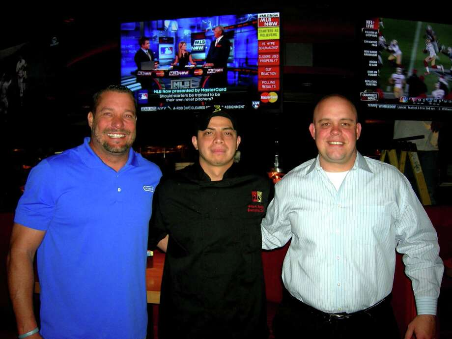 Doug Young (from left), Albert Benitez and Jordan Fowlkes have opened Cover 3 in San Antonio.