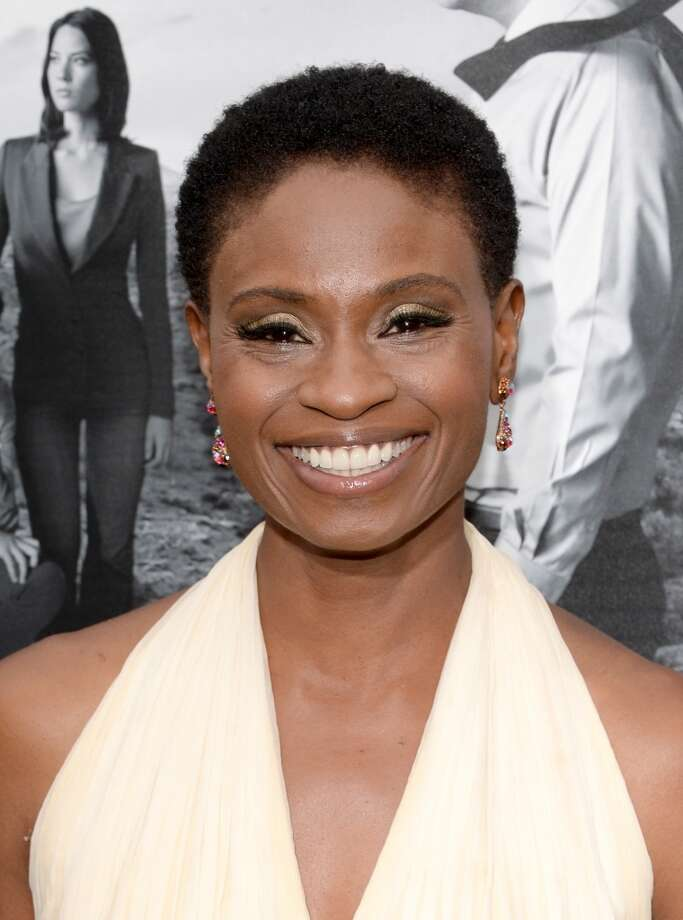 "Actress Adina Porter attends the premiere of HBO's ""The Newsroom"" Season 2 at Paramount Theater on the Paramount Studios lot on July 10, 2013 in Hollywood, California.  (Photo by Jason Kempin/Getty Images)"