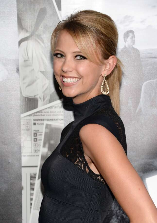 "Actress Riley Voelkel attends the premiere of HBO's ""The Newsroom"" Season 2 at Paramount Theater on the Paramount Studios lot on July 10, 2013 in Hollywood, California.  (Photo by Jason Kempin/Getty Images)"