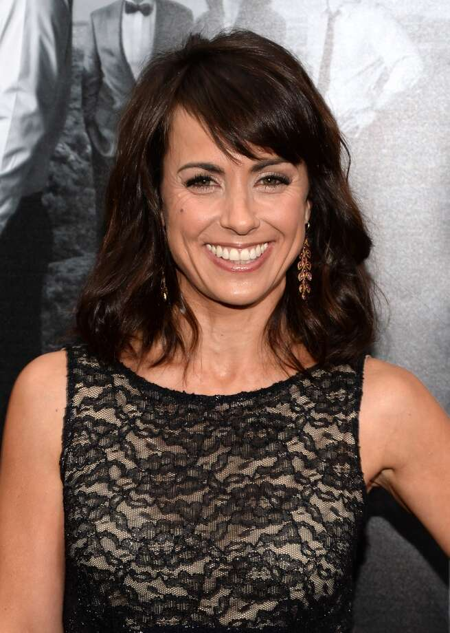 "Actress Constance Zimmer attends the premiere of HBO's ""The Newsroom"" Season 2 at Paramount Theater on the Paramount Studios lot on July 10, 2013 in Hollywood, California.  (Photo by Jason Kempin/Getty Images)"