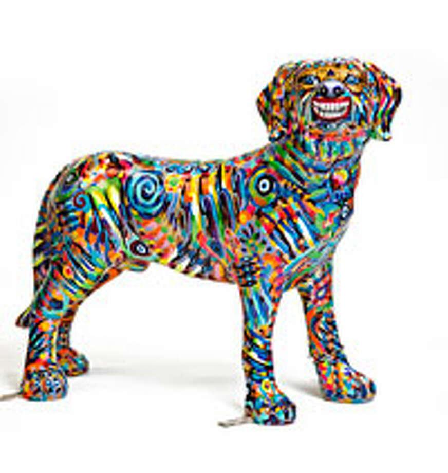 """""""Voodoo Lucky Charm Pup"""" by Joan Fabian"""