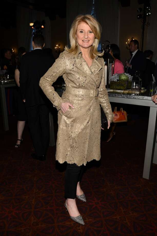 Often wearing traces of lace, Arianna Huffington's bodacious bob is legendary. Here she attends the PEOPLE/TIME Party On The Eve Of The White House Correspondents' Dinner on April 26, 2013 in Washington, DC.