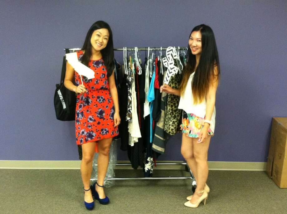 Julie Suhk and Gloria Truong are not only staff but also users on Poshmark's social fashion network.