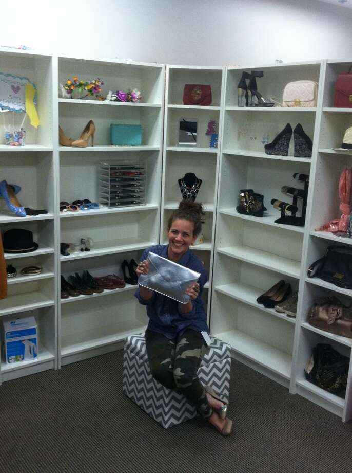 Kate Franco peddles  goods from Poshmark's staff closet, she's one of 2 million users.