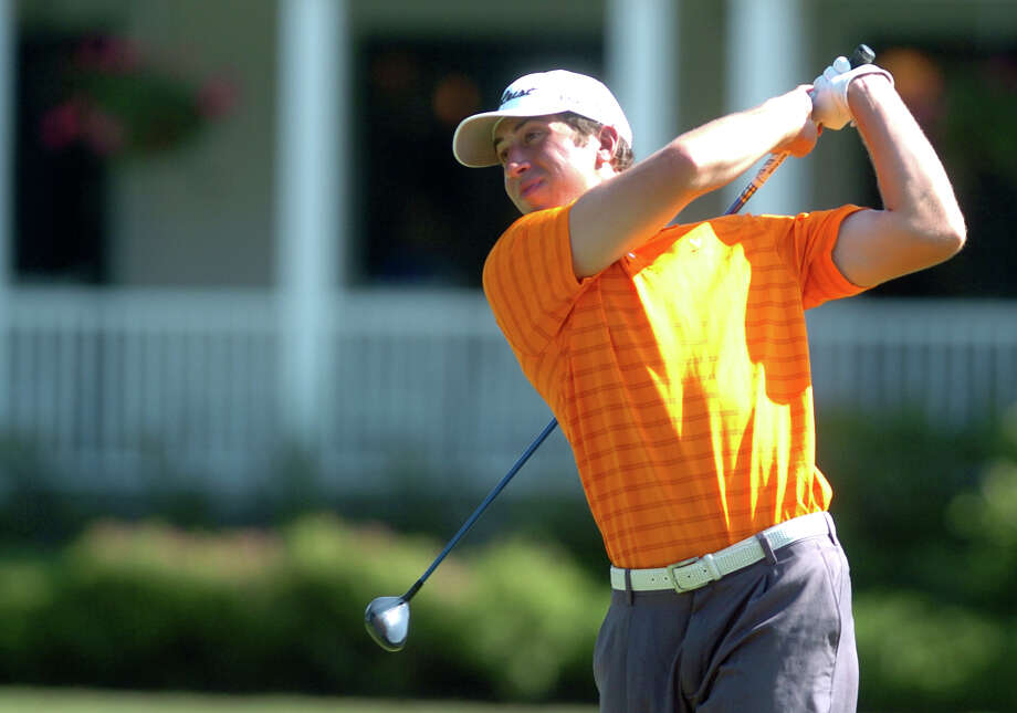 David Pastore won the Town-wide Men's Golf Championship of Greenwich in 2011. Photo: Autumn Driscoll / Connecticut Post