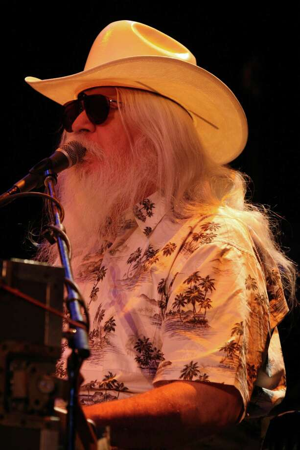 Leon Russell will perform at the Ridgefield Playhouse on Sunday, July 21. Photo: Contributed Photo