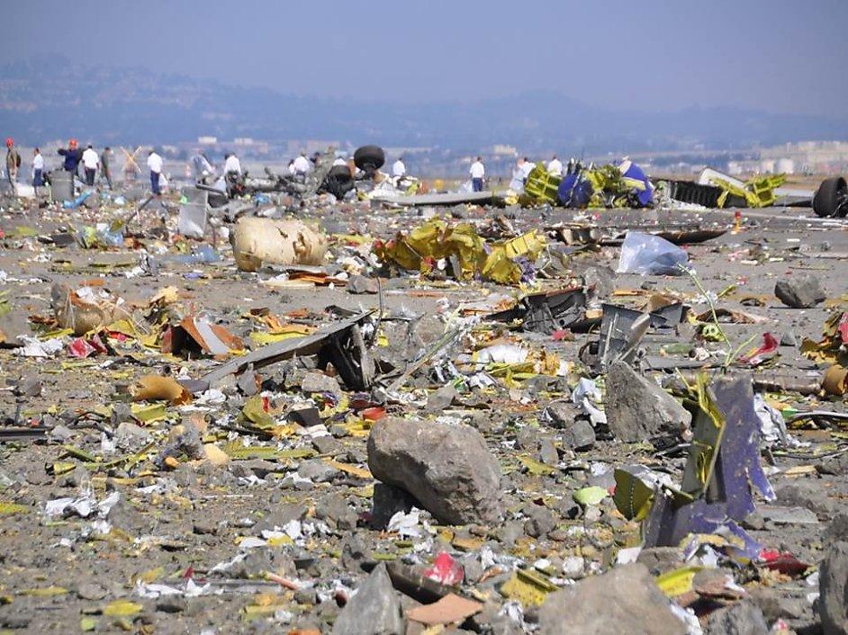 SF plane crash 911 tapes reveal chaos