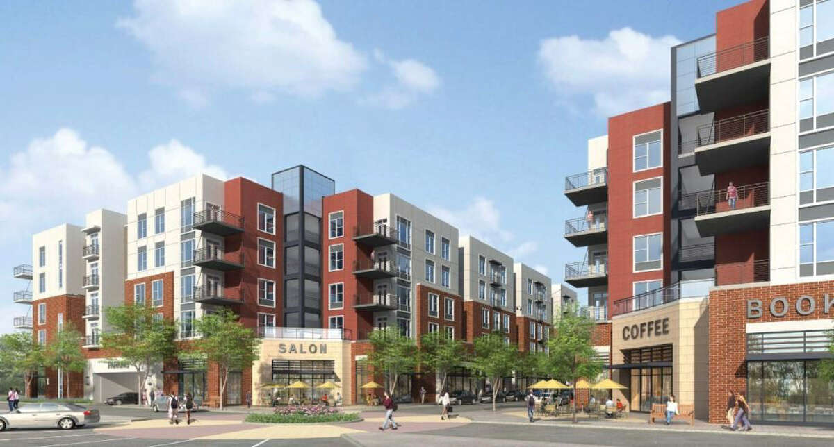 North Point Crossing, set to open in 2014 across from Texas A&M in College Station, is an example of the trend of luxury student living thriving in college towns around the country.