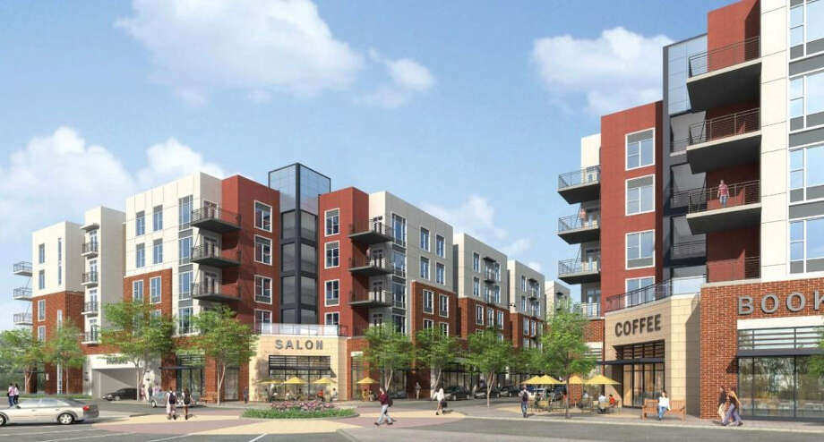 North Point Crossing, set to open in 2014 across from Texas A&M in College Station, is an example of the trend of luxury student living thriving in college towns around the country. Photo: Courtesy North Point Crossing