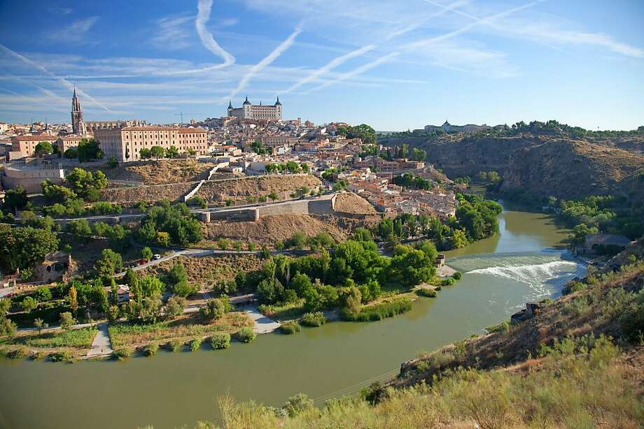On a high point framed by a curve of the Tajo River, Toledo is preserved as a national monument. Photo: Dominic Bonuccelli, Rick Steves' Europe