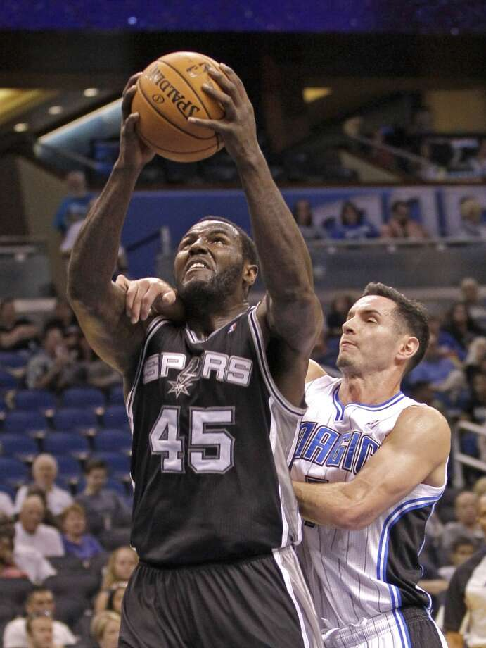 DeJuan Blair  Former team: San Antonio Spurs  New team: Dallas Mavericks Photo: John Raoux, Associated Press
