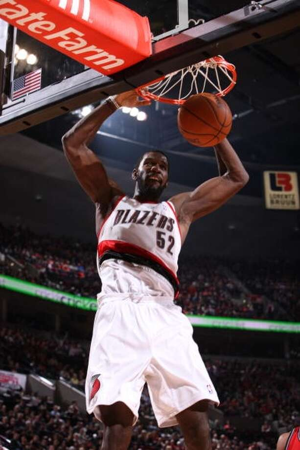 Greg Oden  New team: Miami Heat  Old team: Portland Trail Blazers (last played in 2009-10)  Status: Unrestricted Photo: Sam Forencich, NBAE Via Getty Images