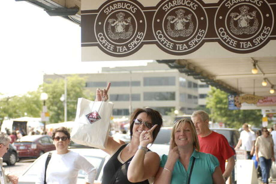 By the way, this store is actually Starbucks' fourth oldest. The original opened in 1971 nearby and moved to the current Market spot in 1974. By that time, two other Starbucks had already opened. (But don't tell that to the tourists; we want them to keep coming.) Photo: Melanie Conner, Getty Images / 2008 Getty Images