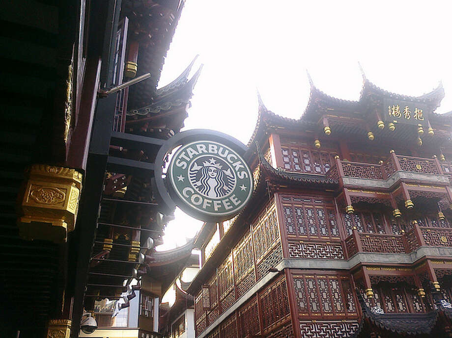 So now that Starbucks has conquered ski resorts, cruise ships, train cars, shipping boxes, China and ... Photo: Shanghai Photo By Global X, Creative Commons Flickr