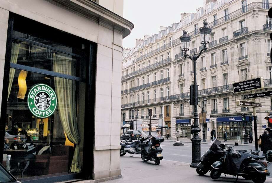 Paris, and … Photo: Colm Pierce, Starbucks