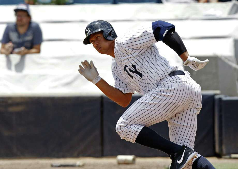 Alex Rodriguez will be interviewed by MLB on Friday for his link to Biogenesis, a closed Florida clinic accused of distributing banned PEDs. Photo: Scott Iskowitz / Associated Press